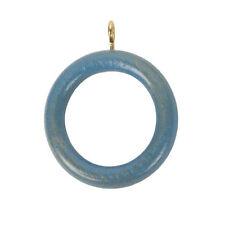 Accessoires bleus pour rideau et store