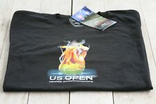 U.S. OPEN TENNIS Champ black shirt (camiseta). USTA, small and NEW WITH TAGS!