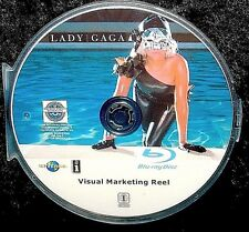 LADY GAGA Visual Marketing Reel Music Videos BLU-RAY DVD 3 Hr with FREE SHIPPING