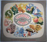 Rare Livre Ancien Calendrier Des Enfants 1950 Les Albums Du Père Castor