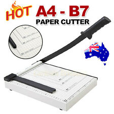 Heavy Duty Professional A4 To B7 Paper Guillotine Cutter Trimmer Machine Home
