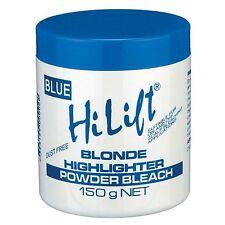 HI LIFT POWDER BLEACH BLUE 150G FREE SHIPPING