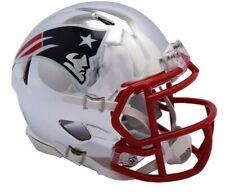 Riddell NEW ENGLAND PATRIOTS Chrome Alternate Speed Mini Football Helmet
