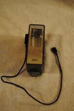 Braun Hobby F 270 Camera Flash with Cable Made In West Germany