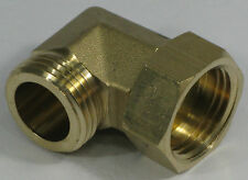 Swival Elbow Connector, GHT F/M Brass, 0142Y