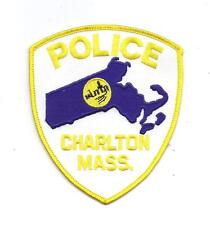 **CHARLTON MASSACHUSETTS POLICE PATCH**