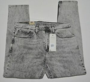 Levis 512 Slim Taper Fit Men's Stretch Gray Jeans New