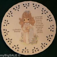 """Precious Moments Collection Confirmation Blessing 5"""" Plate Enesco Vintage 1994"""