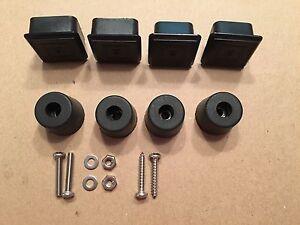 Jeep CJ Spare Tire Carrier Plug and Bumper Kit 76-86 CJ7 CJ8 Scrambler