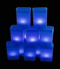 BLUE LUMINARY ELECTRIC BOX LIGHT SET - 1 SET - CHRISTMAS / WINTER HOLIDAY