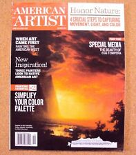 American Artist Magazine October 2011 Back Issue Study Painting Improve Skill