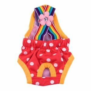 Pet Sanitary Panties Puppy Diaper Underwear Dog Short Pants Physiological Cotton