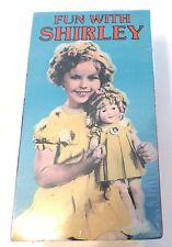 The Best of Shirley Temple Favorites 3 NEW VHS Tapes 6 Videos Shrink Wrap