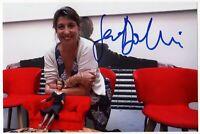 Serena Dandini Autografo su foto - Asta di beneficenza Cinema Signed