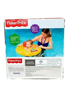 Fisher Price Bestway Triple Ring Swim Safe Baby Seat Ages 0-1 BRAND NEW Floaties