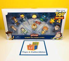 Toy Story 4 - Minis Ultimate New Friends - 10 PACK - Disney Pixar Figures