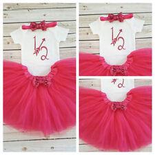 Half birthday outfit,Hot Pink half bodysuit,Hot Pink glitter birthday, Handmade