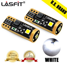 LASFIT LED License Plate Tag Light Bulb for Jeep Dodge Chrysler W5W 168 2825 194