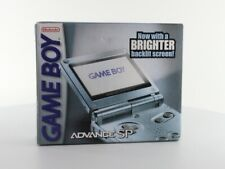 Nintendo Game Boy Advance SP Pearl Blue Gaming Console