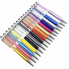 New Gift Ballpoint Pen bling Diamond Crystal Metal Office Pen Student .