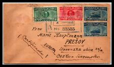 GP GOLDPATH: CARIBBEAN COUNTRY COVER 1928 REGISTERED LETTER _CV523_P18