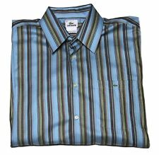 Mens Lacoste Striped Shirt Size 42 or Large