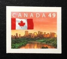 Canada #2011 Die Cut MNH, Flag over Edmonton Stamp 2003
