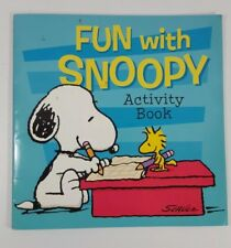 snoopy/ book/ activity book/ peanuts/ Schultz/ Charlie Brown