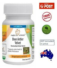 Deer Antler Velvet 20:1 Extract - Joint Health & Athletic Performance - AU Stock