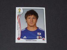 248 SAKAI VFB STUTTGART JAPON NIPPON PANINI FOOTBALL FIFA WORLD CUP 2014 BRASIL