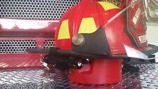 Firefighter/Firemen Helmet Light  (Black Bracket/ Black Flashlight) LED