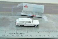 Eko 2156 Plymouth Ambulance Station Wagon White 1:87 HO Scale