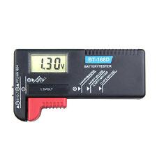 Universal HOT Digital LCD Battery Tester Checker AA AAA 9V 1.5V Good Button Cell