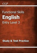 Functional Skills English Entry Level 3 - Study & Test Practice New Paperback Bo