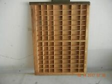 Ludlow printers type drawer  (Free shipping)