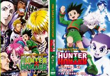 Hunter x Hunter Season 1+2 (1-210End+2 Movie+30 OVA) Anime DVD - English Dubbed