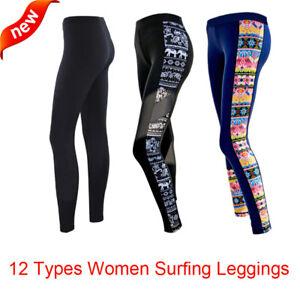 Women Sports Surfing Swim Tights Sailing Pants  Leggings Trousers Swimwear