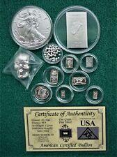 12x Silberbarren Silbermünzen Totenkopf Nuggets Liberty Cook Wertanlage Sammeln