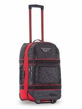 Fly Racing Ogio Layover Roller Bag Carry On  22x14x10 TSA Approved Red/Grey