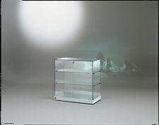 Vetrina bassa Vetrinetta Espositore Display Showcase  Banco Vetro cristallo