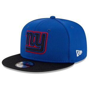 2021 New York Giants New Era 9FIFTY NFL Snapback Home Sideline On Field Hat Cap