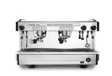 New Faema E98 2 Group Automatic Commercial Espresso Machine (Black / Stainless)