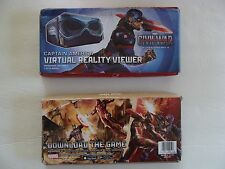 New Captain America & Ironman Civil War Virtual Reality Viewers (set of 2)