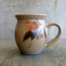 Paul Ronay Pottery Coffee Mug 300mls Gum Blossoms Leaves Brisbane Australia