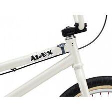 Prénom graffiti personnsalible bicyclette moto sticker  noir 12 cm