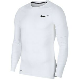 Men's Thermoactive Shirt Nike M NP Top LS Tight BV5588 100 white XL