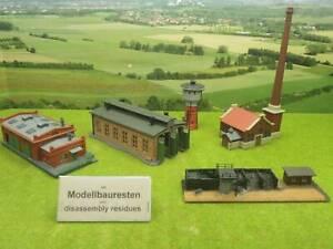 Arnold etc N Kohlebansen Fabrikgebäude mit Schornstein Turm etc (OA) E0851