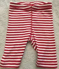 COTTON ON BABY red Stripe Leggings/pants 000 EEUC. 10 Items = $5 Post