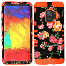 for Samsung Galaxy S9 & Plus - KoolKase Hybrid Silicone Cover Case - Rose 82