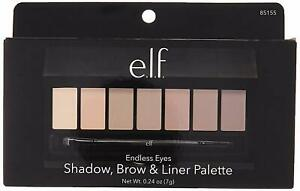ELF Endless Eyes Shadow Brow & Liner Palette #85155 New Boxed